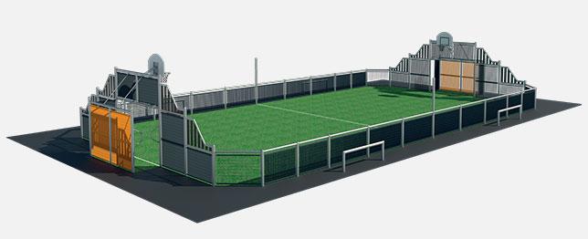 Le terrain city-stade Mini-Stadium