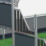 Panneaux composites biseautés