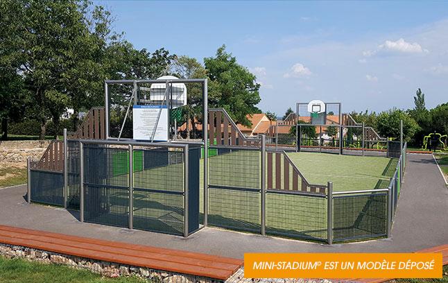 Mini-stadium© est un modèle déposé