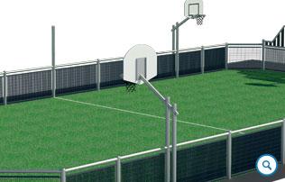 Buts de basket latéraux